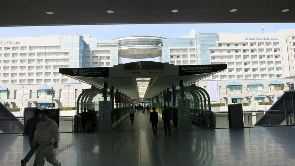 関空ピーチのバス乗り場