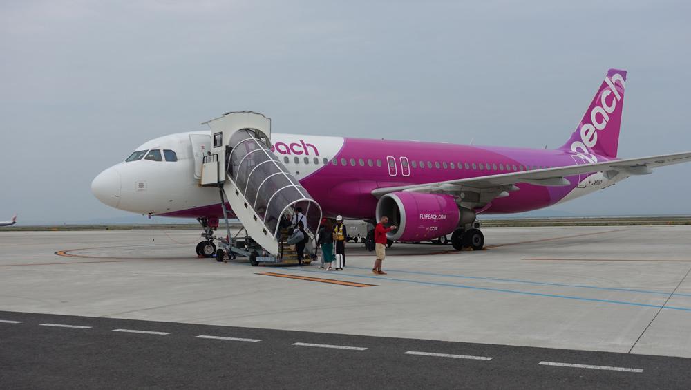 ピーチ航空の国際線ターミナル